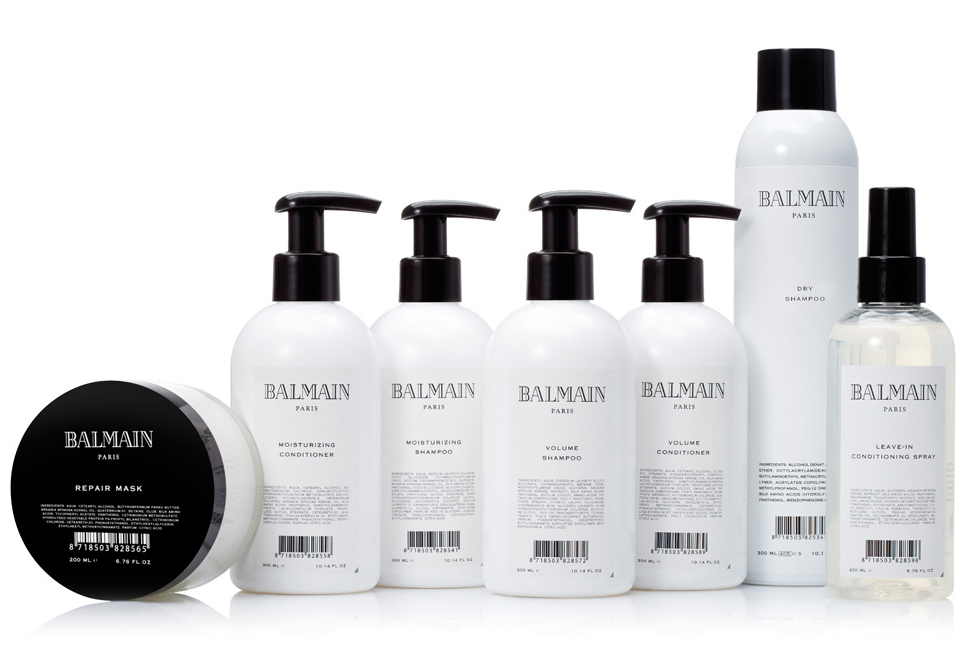 Balmain hair care launches in south africa