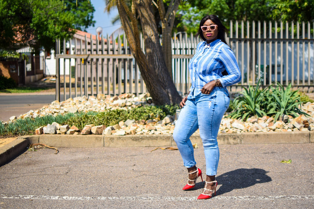 how to style blue denim jeans (2)